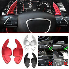 Steering Wheel Aluminum Shift Paddle Shifter Extension For Audi A4 B8 A5 S5