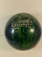 Used Brunswick Mickey Mouse Disney Bowling Ball 14lbs Drilled 1EJ7376