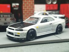 Hot Wheels Custom Nissan Skyline R34  read description #18