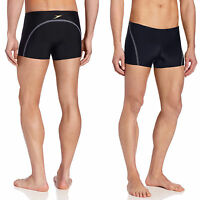 Speedo Mens Fitness Compression Square Leg Swimsuit Shorts Brief 7300154 Sz S-XL