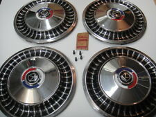 1963 Ford Fairlane Hubcap Wheelcover NOS SET OF FOUR in BOX #2