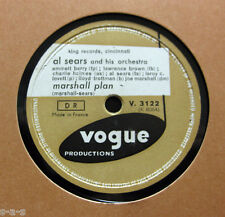 Al Sears & His Orchestra - Marshall Plan / Berry Well VOGUE (318)  R&B