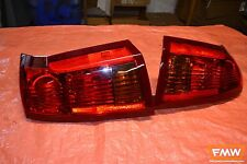 04-07 05 06 CTS CTS-V Red Tail Lights Taillight Left & Right OEM w/ Wiring