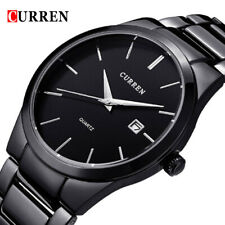 CURREN Men Quartz Watch Casual Male Business Calendar Watches Analog Wristwatch