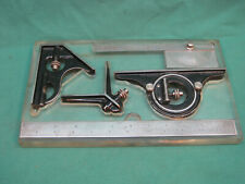 """STARRETT FOUR PIECE 12"""" COMBINATION SQUARE WITH TRAY HOLDER"""