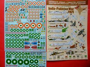 India - Pakistan War 1971 - 1/72 DP Casper Decals