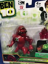 "New ULTIMATE WILDMUTT 4"" Ben 10 Action Figure - Mini Fig CARTOON NETWORK Bandai"