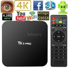 TX3 PRO Android 6.0 S905X Quad Core Smart OTT TV Box 4K Stream Media Player W1Y8