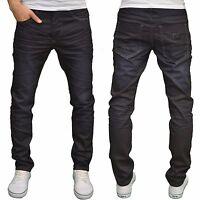 Eto Mens Designer Branded Regular Fit Tapered Leg Denim Jeans, BNWT