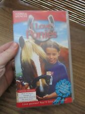 I Love Ponies VHS Video Tape (NEW)