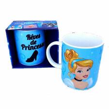 DISNEY mug tasse thermique CENDRILLON princesse, bleu