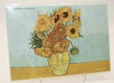 """Glasses Cleaning Cloth Van Gogh """" Sunflowers """" Cleaning Cloth Microfibre"""