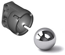 Lego Steel Ball+Steering Ball Socket (robot,technic,pivot,ev3,wheel,tire,caster)