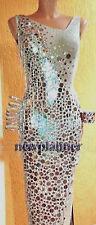 Women Ballroom Rhythm Salsa Rumba Latin Dance Dress US 8 UK 10 Same Color