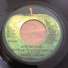 George Harrison Give Me Love Apple 1862 MINT! Looks Unplayed! Mint Apple Sleeve!