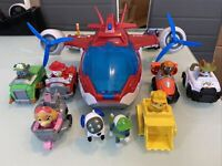 Paw Patrol 6026622 Air Patroller, Multi-Colour & extra pups and vehicles.