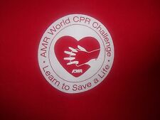 CPR red graphic World Challenge L t shirt