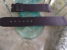 Harry Winston black satin strap band 18x16mm  new