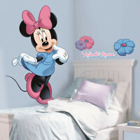 DISNEY MINNIE MOUSE X LARGE VINYL WALL STICKER DECALS CHILDREN GIRL BOY ROOM 4