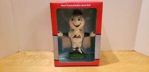 Mr. Met Hand Painted Bobble Head MLB Collectible Series