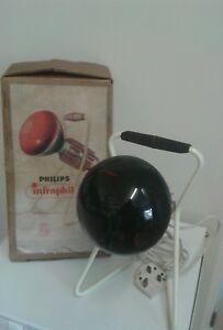 Philips Infraphil retro  sputnik 60s on heat lamp light project etc