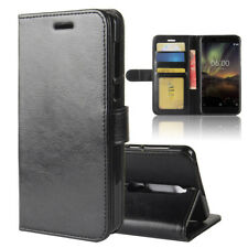 Ultra-Thin Leather Flip Wallet Magnetic Case Cover For NOKIA 1 2 3 5 6 7 7+ 8 9
