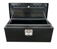 BRAIT  BR30F Flat Top Aluminum Tool Tote Box Garage Storage 30x13x13, Black