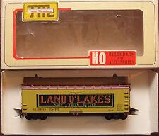HO Train Miniature Land O' Lakes 40' Wood Reefer RTR