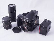 Mamiya 645 Pro Film Camera 120 Body Prism AE WG401 winder Lens 45 210 kit lot