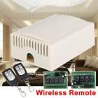 DC 12V 4CH Wireless Remote Control Relay Switch Transceiver + Receiver 315MHz R✿