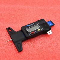 Car Digital Tyre Tread Depth Gauge Brake Shoe Pad Wear LCD Display Measure Tool