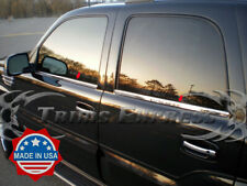2000-2006 Chevy Tahoe 4Pc Chrome Window Sill Stainless Steel Door Cover Trim