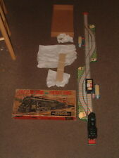 VINTAGE ALPS B/O SHUTTLING TRAIN & FREIGHT YARD W/BOX. FULLY WORKING & COMPLETE!