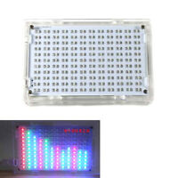 LED Display Music Spectrum Analyzer Amplifier MP3 Audio Level Meter Kit S8