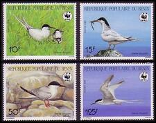 Mint Never Hinged/MNH Birds Beninese Stamps