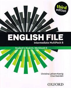 Oxford ENGLISH FILE Intermediate Third Edition MultiPack B @NEW@ 9780194520478