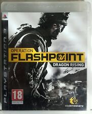 Operation Flashpoint Dragon Rising. Ps3. Fisico. Pal Es