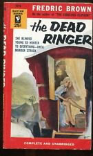 THE DEAD RINGER Fredric Brown 1954 2nd print from Bantam 121