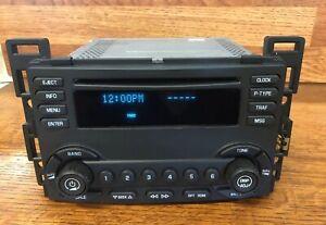 Chevy Malibu Radio 04-05-06 Cd Unlocked Plug & Play Mint UN0 & SSG Graphic EQ