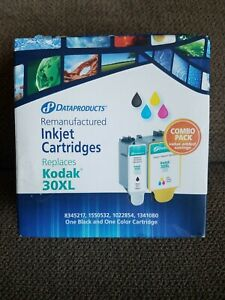 Data Products - KODAK 30XL Combo Pack inkjet Printer Cartridges - black/color