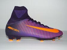 863ab034b629c8 Nike Football Cleats JR Mercurial Superfly V FG Youth Size 5 Purple 831943  585