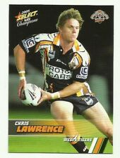2008 NRL SELECT CHAMPIONS WESTS TIGERS CHRIS LAWRENCE #189 BASE CARD FREE POST