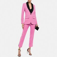 DIANE VON FURSTENBERG Pink Tuxedo Suit
