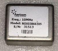NAVICOM NOX038663XS OCXO DOUBLE OVEN QUARTZ OSCILLATOR+12V 10MHz sinewave
