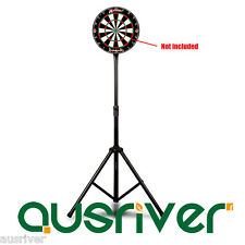 Premium Painted Steel Dartboard Stand Adjustable Hight Sturdy Frame Dart Game