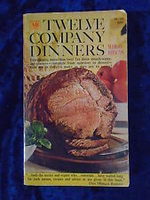 TWELVE COMPANY DINNERS by MARGO RIEMAN-MACFADDEN BARTELL 1964-P/B-UK POST £3.25
