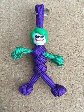 Joker from Batman custom Paracord Buddy keyring zipper puller
