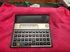 Calculatrice HP 12C Gold - Made in USA - avec pochette