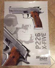 SigSauer Poster P226 X-FIVE - 84x60 cm - Sig Sauer - Pistole - Hochglanz