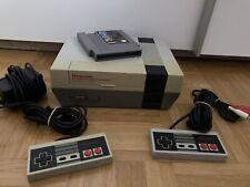 Nintendo Entertainment System NES mit 3 Spielen